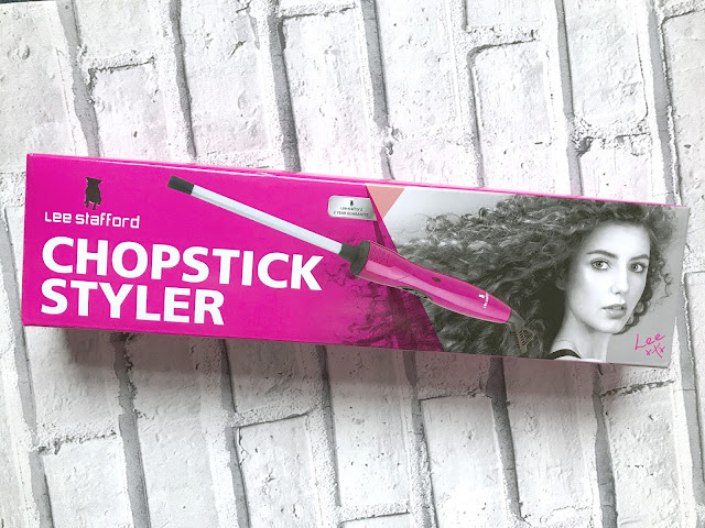 The Lee Stafford Chopstick Styler - Review Including Before And After Photographs