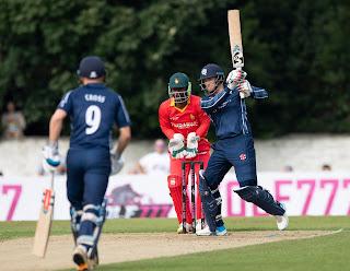 Scotland vs Zimbabwe 1st T20I 2021 Highlights