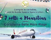 Logo Concorso Spazio Sposi ''Vieni in fiera e vinci un viaggio a Mauritius''