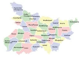 how many district in bihar