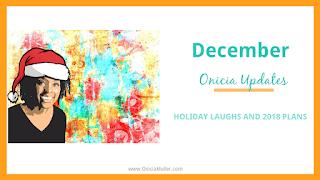 Onicia Update - December 2017