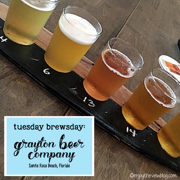 Adventures of Gus and Kim: Drinking in Santa Rosa Beach, Florida - If you're a beer lover, then you must stop by the Grayton Beer Company the next time you visit the Destin area!