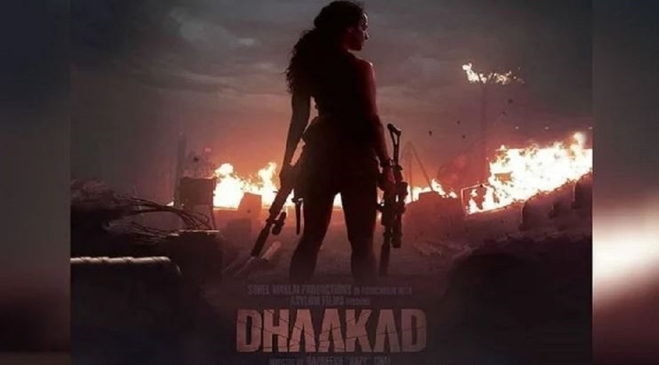 Dhakad first schedule completed, attack will release on August 13