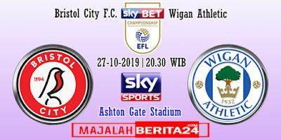 Prediksi Bristol City vs Wigan Athletic — 27 Oktober 2019