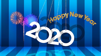 Happy new year 2020 4k wallpapers
