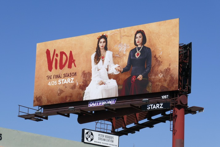 Vida final season 3 billboard