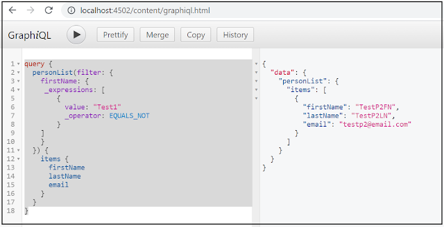 AEM GraphQL API