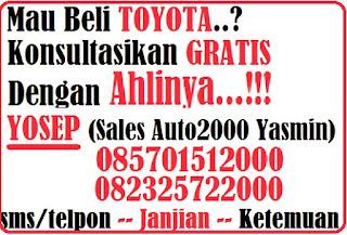 Harga Terbaru OTR Toyota Grand New avanza di Kota Bogor Bulan Januari 2016