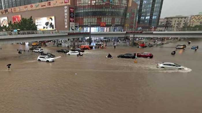 Beijing, News, World, Death, Rain, Missing, Airport, At least 25 dead in China as province is deluged by heaviest rain