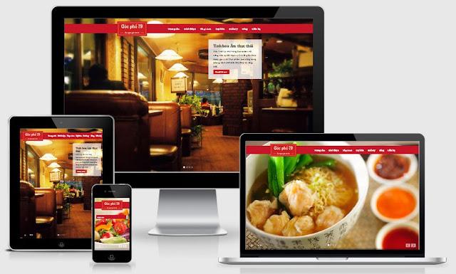 Thu hút thực khách với thiết kế website nhà hàng