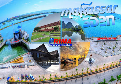 paket tour makassar 3 day 2 night