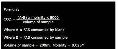 COD Formula image