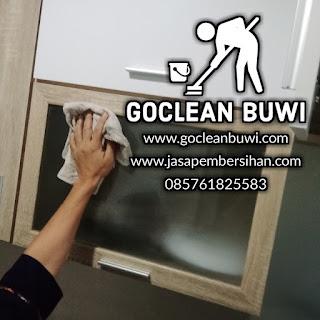 Jasa membersihkan Goclean Buwi berbagi pengalaman kerja dengan pelanggan