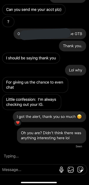 Man sends woman 50,000 Naira as a 'thank you' for replying his chat