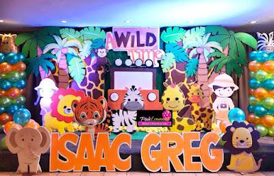 Safari themed Backdrop