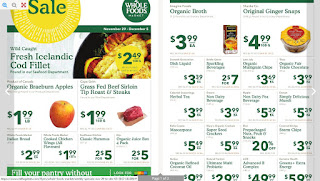 Whole Foods Flyer this week November 29 - December 05, 2017