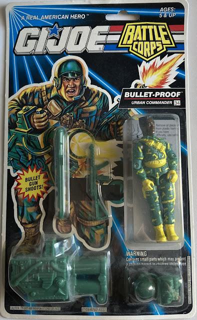 1993, Bulletproof, Battle Corps, DEF, MOC
