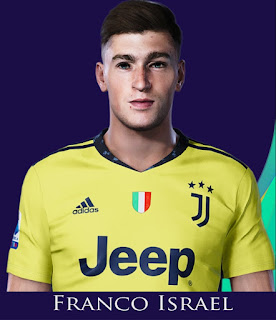 PES 2021 Faces Franco Israel Wibmer by Rachmad ABs