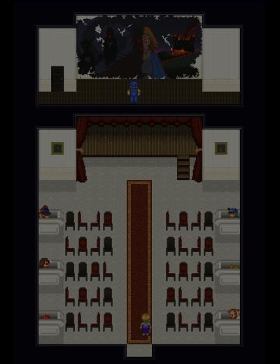 Desolate City - The Bloody Dawn (Enhanced Edition) - Sala Magna