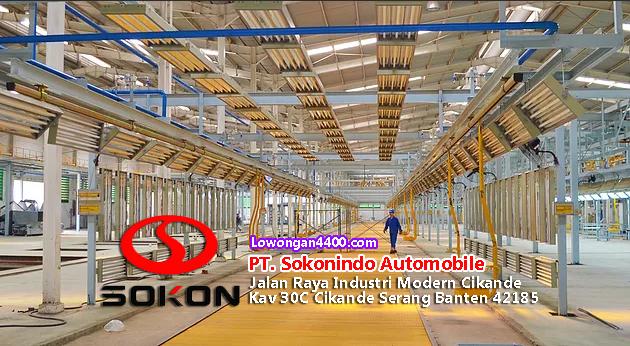 Lowongan Kerja PT. Sokonindo Automobile Serang Banten