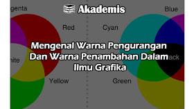 Mengenal Warna Pengurangan Dan Warna Penambahan Dalam Ilmu Grafika