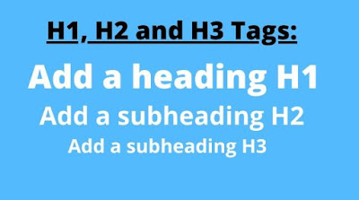 H1, H2, and H3 Tag