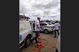 Energisa e Polícia Civil flagram 'gato' de energia em restaurante e dono e eletricista são presos em Soledade