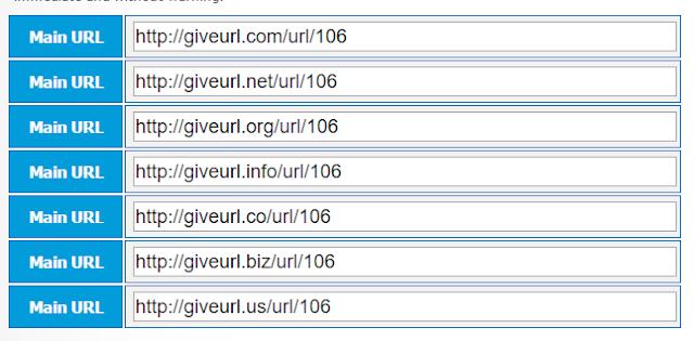 موقع Give Url