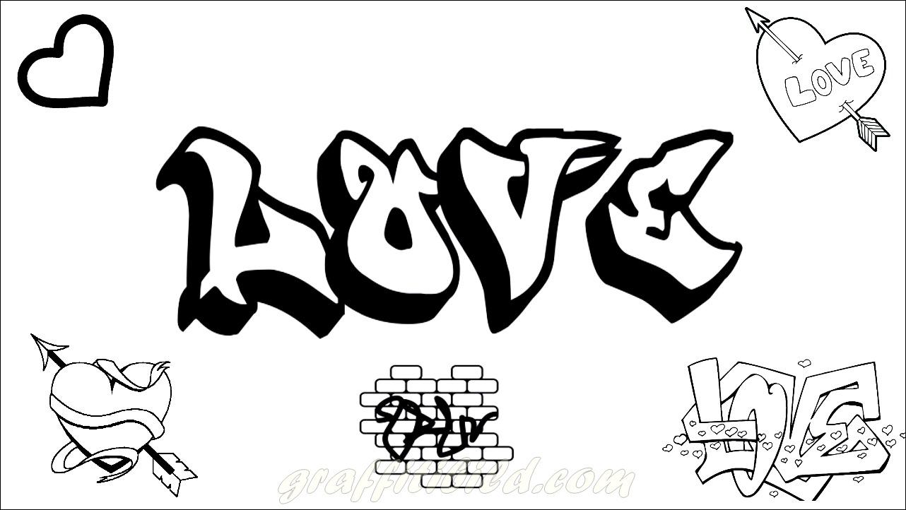 Beste Graffiti Ausmalbilder Zum Ausdrucken Kostenlos Graffiti