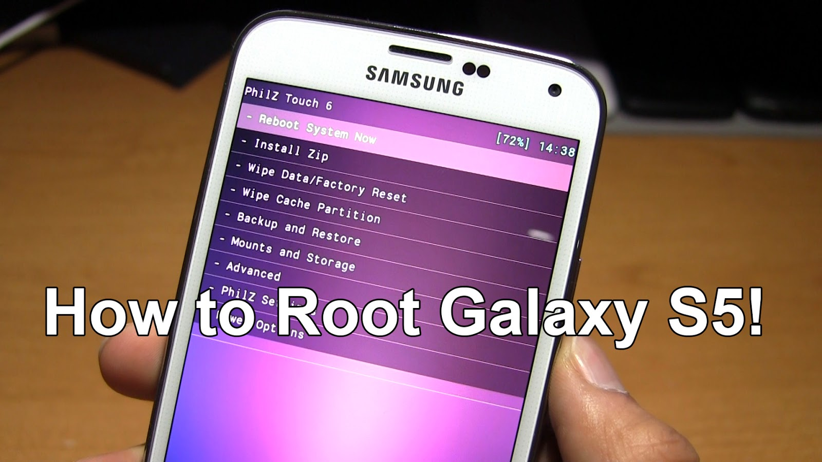 How to Root Galaxy S5! | Recovery + Root ~ AndroidRootz com | Source
