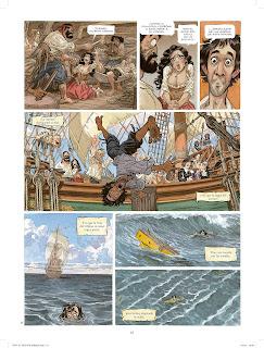 El Buscón de las Indias, el nuevo trabajo de Juanjo Guarnido.