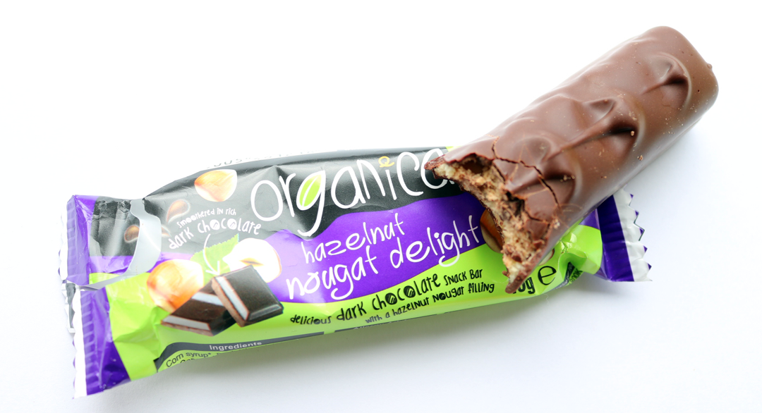 Organica Hazelnut Nougat Delight Bar