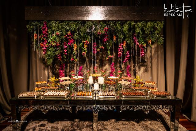 decoração e cerimonial de casamento realizado na casa vetro em porto alegre por life eventos especiais com decoração sofisticada elegante contemporanea