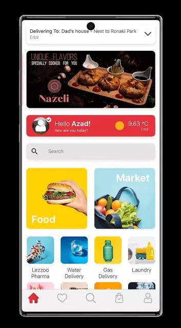أفضل تطبيقات توصيل الاكل والمطاعم في العراق