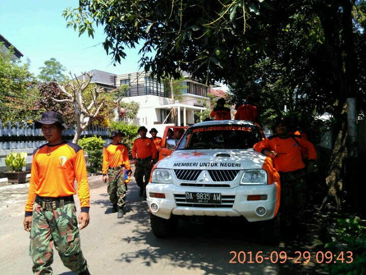 Apel Siaga Bencana Team Lazismu & KOKAM Jember bersama Bupati dan FORPIMDA Jember5