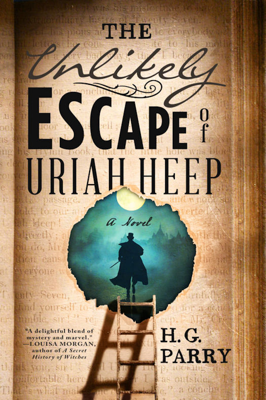 Interview with H.G. Parry, author of The Unlikely Escape of Uriah Heep