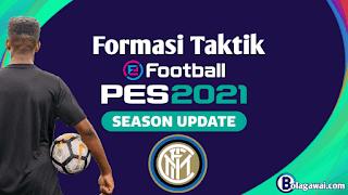 Formasi Terbaik Inter Milan PES 2021