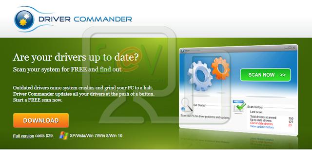 Driver Commander (Falso optimizador)