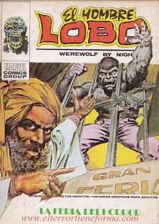 El Hombre Lobo 04 Ediciones Vertice