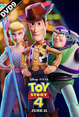 Toy Story 4 2019 DVD9 + DVD5 R2 PAL SPANISH