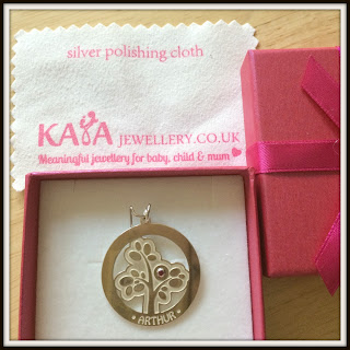 Kaya Jewellery silver keepsake with box