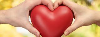قلب كبير في ايدين