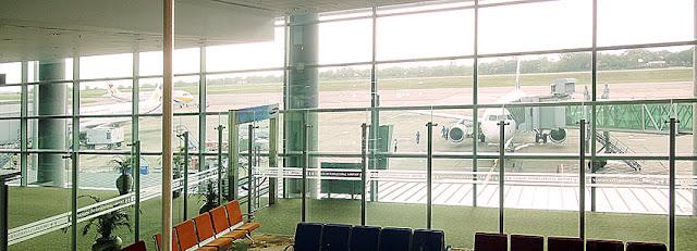 Yangon Airport departure (1)
