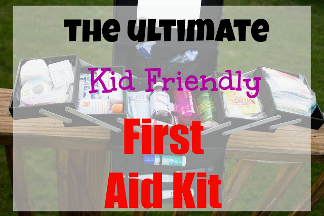 Kid Friendly First Aid Kit