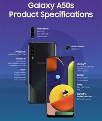 Samsung Galaxy A50s Specification