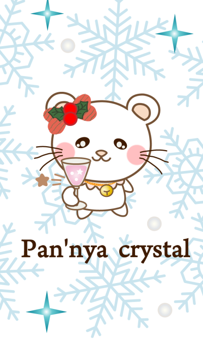 Panda cat, Pan'nya and crystal of snow