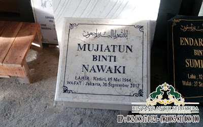 Jual Batu Nisan Marmer, Jual Nisan Marmer, Nisan Marmer Kotak