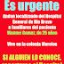 Buscan a familiares de paciente internado, en la colonia Morelos