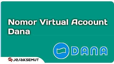 nomor virtual account dana