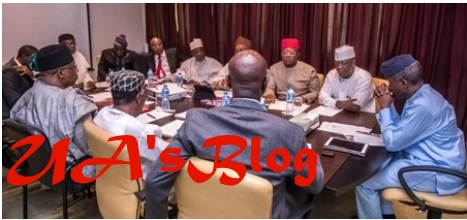 Breaking: Vice president Osinbajo in closed door meeting with governors over herdsmen crisis